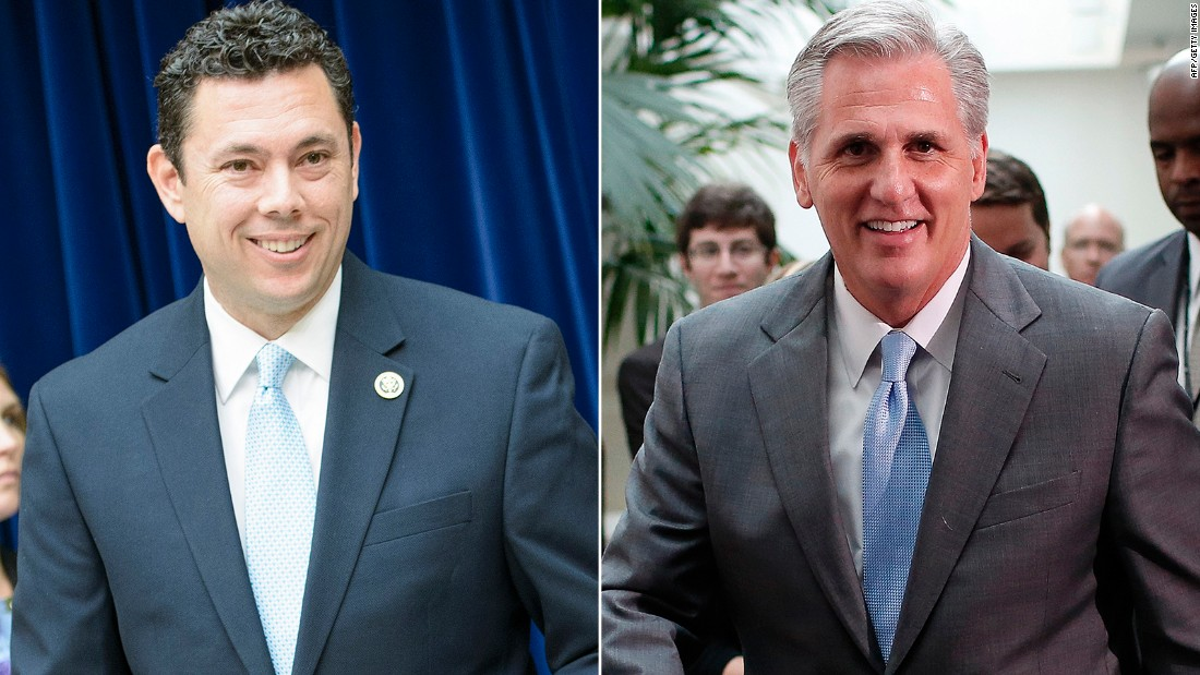 Jason Chaffetz challenges Kevin McCarthy for House speaker