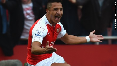 Sanchez has been in terrific form for Arsenal in recent weeks
