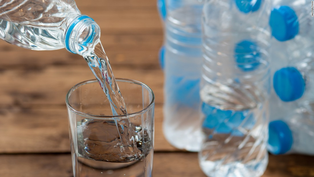 The average person needs 1 gallon of water per day. Stock up on at least a three-day supply per person in your home.