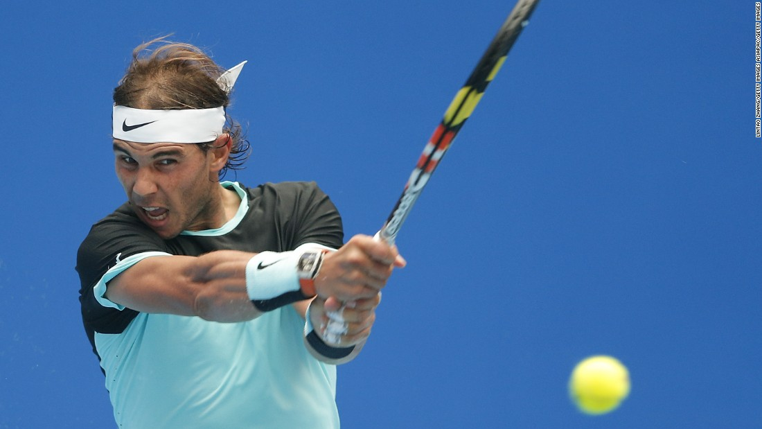 But Nadal, mirroring his season, struggled against Wu Di. At one stage in the second set he lost 11 of 13 points.