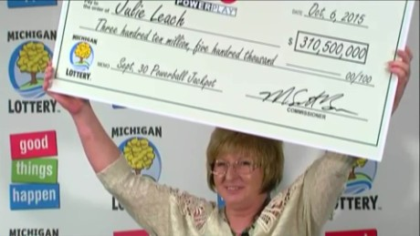 powerball winner michigan julie leach sot_00010301