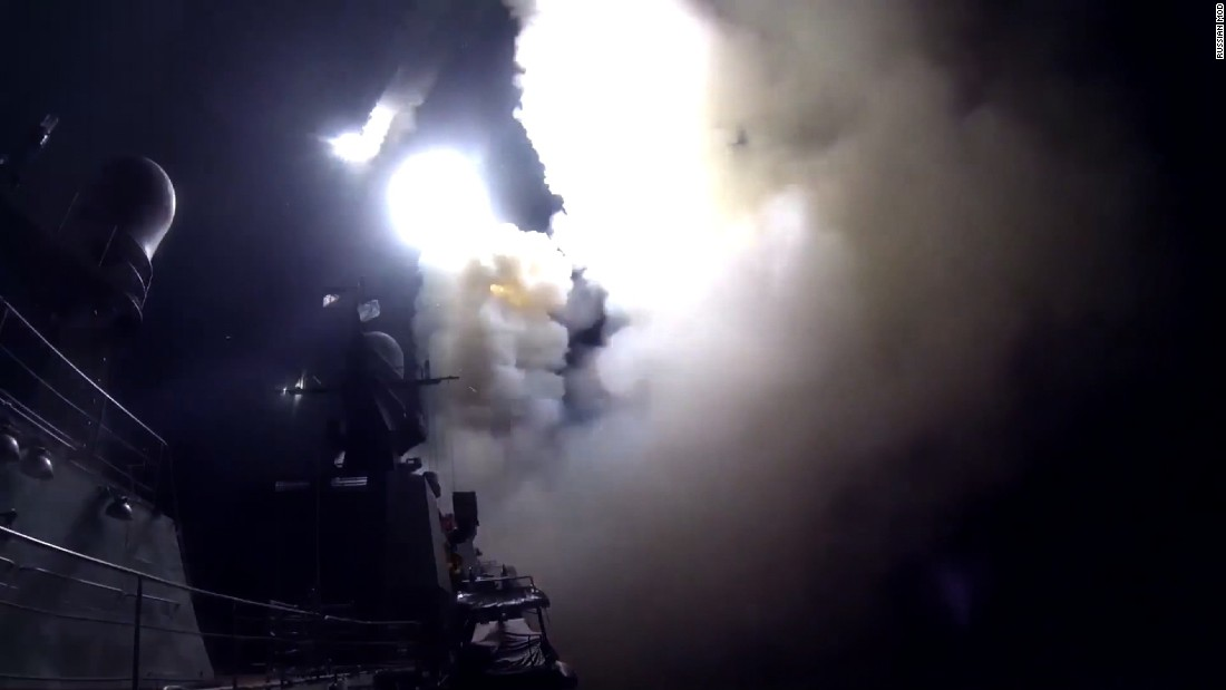 Russia launches naval bombardment of targets in Syria