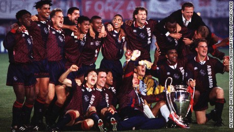 Ajax was last European champion in 1995