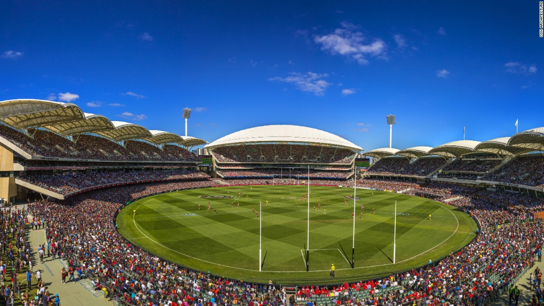 "According to COX Architecture firm, The Adelaide Oval is a flexible event venue that is ""distinctly South Australian."" Aside from being the home to the Adelaide Football Club, the Oval hosts other entertainment, social activities and sporting events year round."