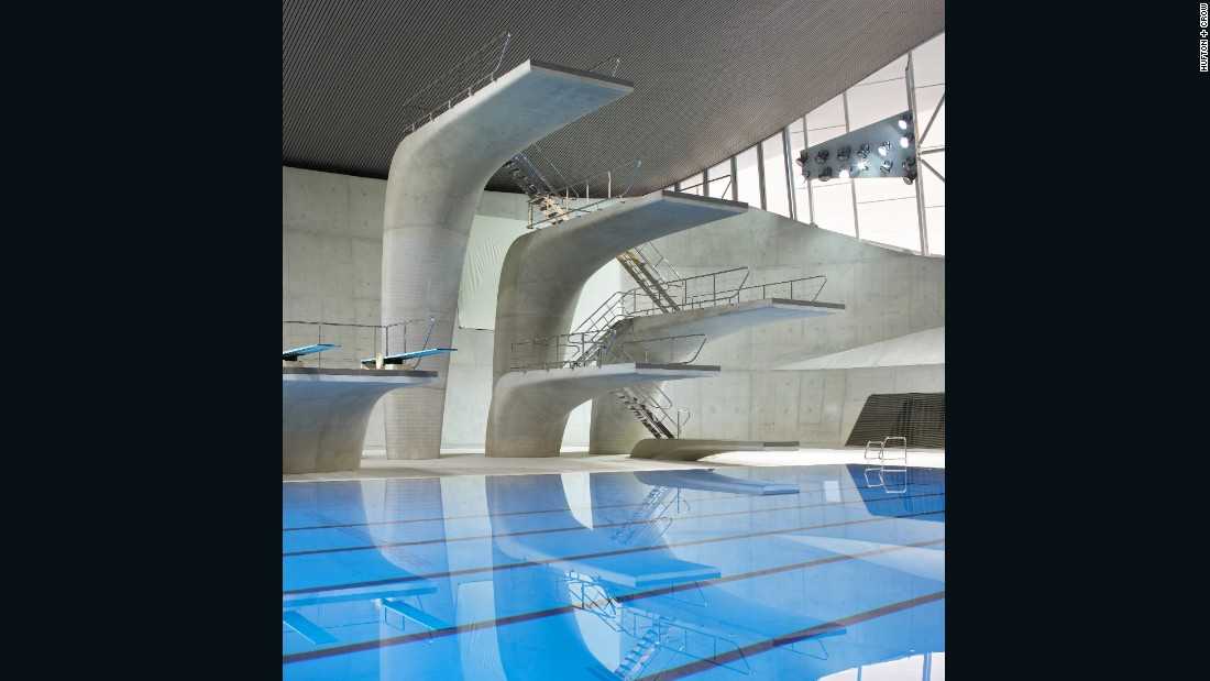 """It's hard to say how much a building can contribute to an athlete's performance, but it was undeniably a unique facility for the London Olympics. It made the athletes relaxed, inspired and able to perform to their best,"" says project director Jim Heverin. 10 athletes, including Michael Phelps, set new world records at the facility."