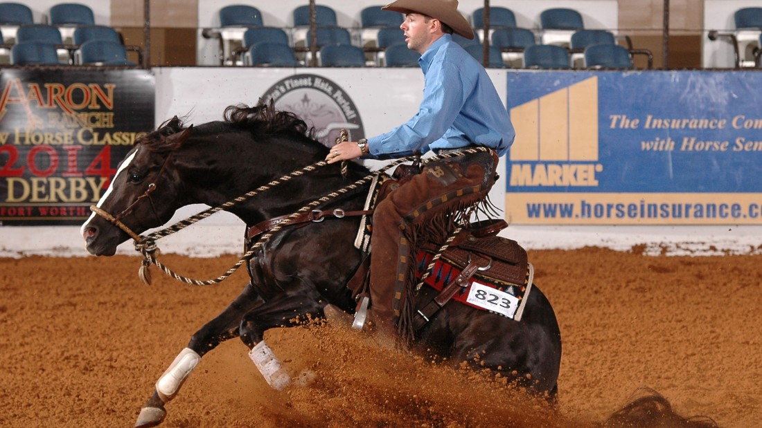 Waggoner Ranch is no stranger to horse play of all kinds from reining ...