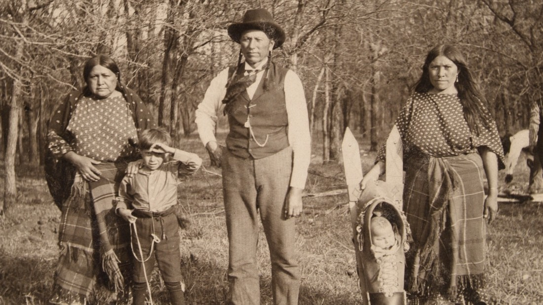 Famed Comanche chief Quanah Parker has also been pictured on the ranch during its rich history.