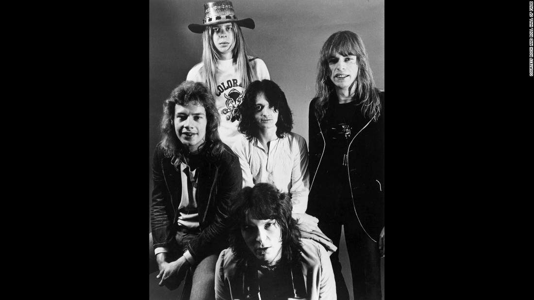 "The English rock band Yes formed in 1968, with hits into the 1980s such as ""Owner of a Lonely Heart."" The group continues to tour with new members."