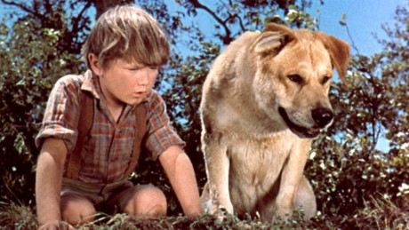 OLD YELLER, Kevin Corcoran, 1957