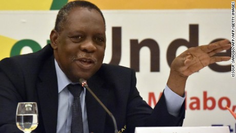 Hayatou says he will not stand in the FIFA presidential election in February