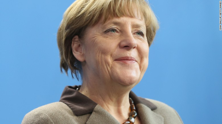 Angela Merkel is TIME's Person of the Year