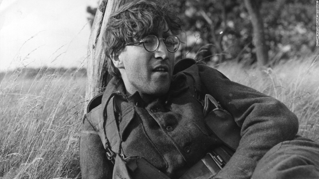 """Give Peace A Chance."" Lennon breaks out the military garb as he plays Private Gripweed in Richard Lester's film ""How I Won the War,"" in 1966."