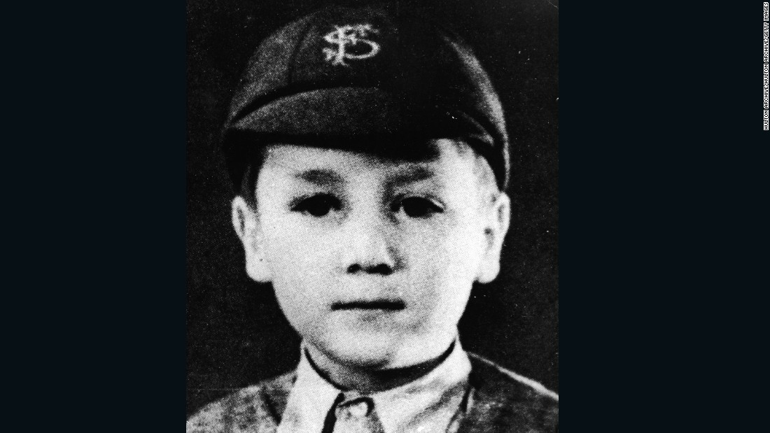 """Strawberry Fields Forever."" The young John as a schoolboy, circa 1948, with the cap, tie and blazer; the uniform of a bygone age."