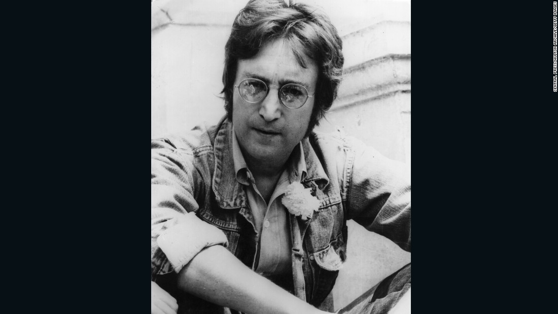 """You may say I'm a dreamer..."" Lennon shed the hair and extravagant hippy look in the year he wrote ""Imagine,"" what some consider to be his greatest work."