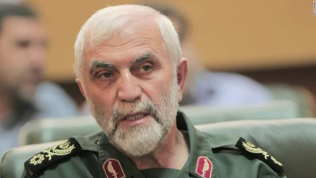 U.S. official: 'Psychological blow' in ISIS killing of Iranian general in Syria