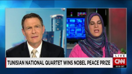Nobel Prize seen as a boost for Arab Spring