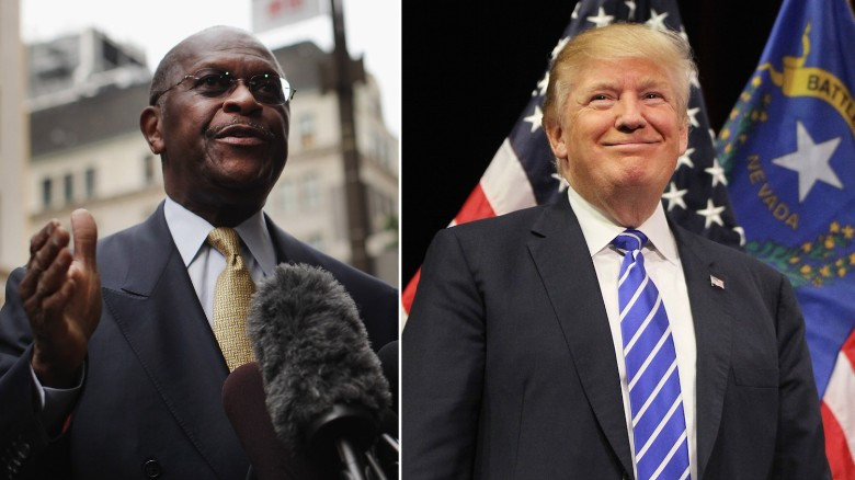 Donald Trump: Herman Cain a 'great guy'