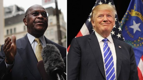 Herman Cain says he dropped out of Fed running because of the pay cut