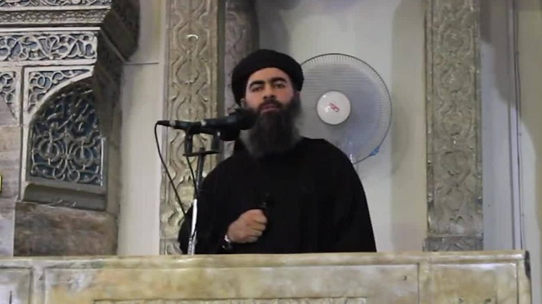 Report: ISIS leader's convoy hit