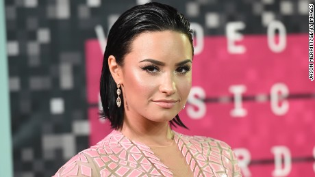 Singer Demi Lovato attends the 2015 MTV Video Music Awards at Microsoft Theater on August 30, 2015 in Los Angeles, California.