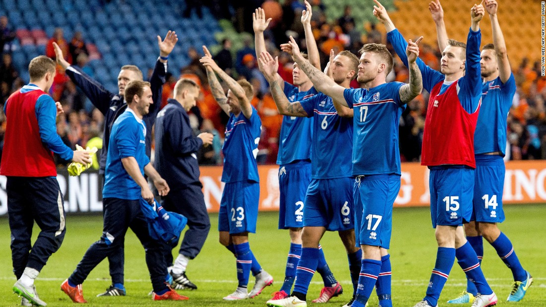 Drawn in a group with European heavyweights such as Turkey and the Netherlands, Iceland guaranteed its spot in France with two games to spare. The football minnow is the smallest country to ever qualify for the European Championship.