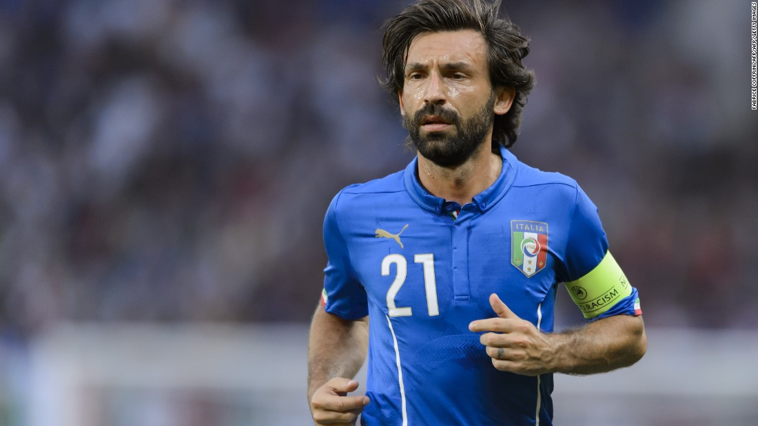 World Cup winner Andrea Pirlo will be hoping to add the Euros to his list of honors next year after returning to the national team for the qualifiers.  The veteran Italy midfielder suffered defeat in the 2012 final against Spain, a crushing 4-0 reverse. The Azzurri, unbeaten in topping Group H this time, also finished runners-up in 2000.