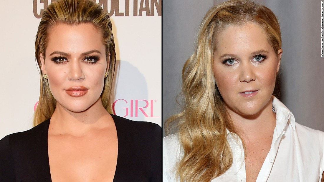 "It seems like Khloe Kardashian, left, didn't appreciate Amy Schumer joking about her weight loss<a href=""https://www.youtube.com/watch?v=zhu7rs3Ihas"" target=""_blank""> during an ""SNL"" monologue.</a> <a href=""https://twitter.com/khloekardashian/status/653293171498024960?ref_src=twsrc%5Etfw"" target=""_blank"">Kardashian tweeted, </a>""No need 2 tear down others just 2 make urself feel bigger. It actually makes u quite small."""