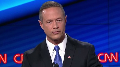 governor martin omalley democratic debate lets talk about the issues_00003530