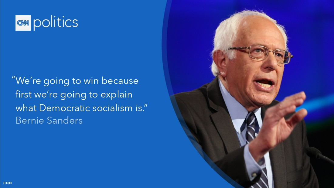 bernie sanders debate quote gfx