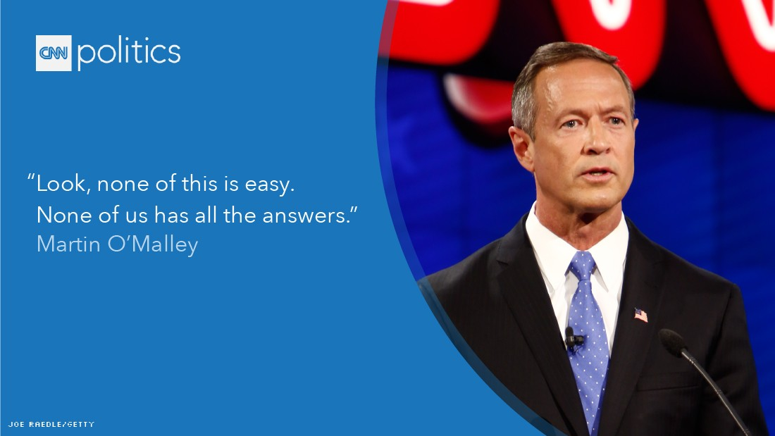 martin o'malley debate quote gfx
