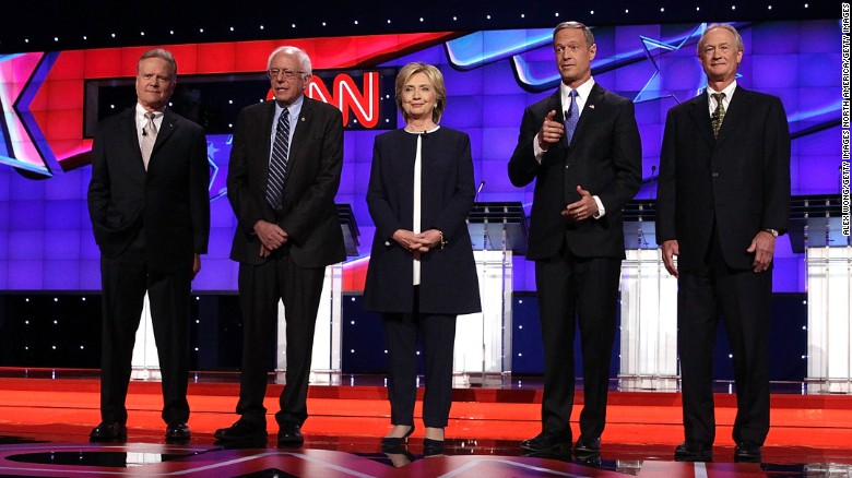 The CNN Democratic debate in 2 minutes