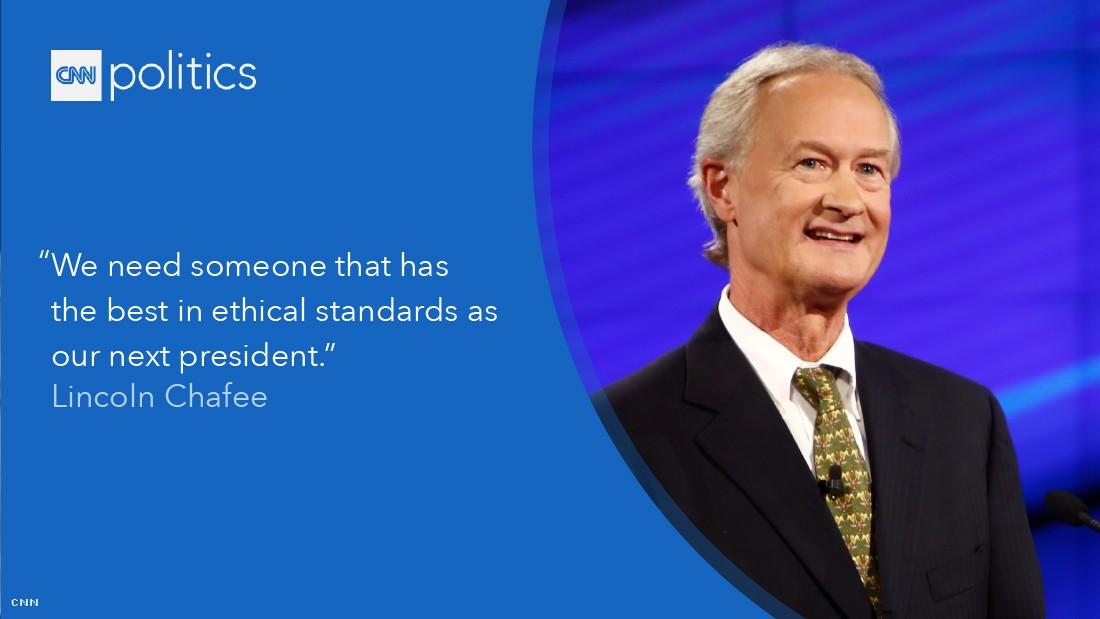 lincoln chafee debate quote gfx