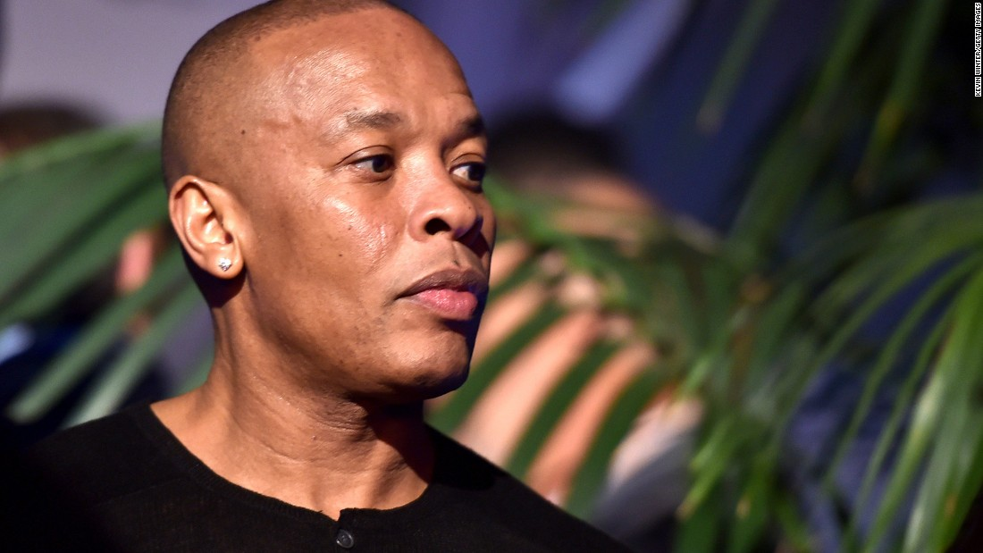 "Rapper Dr. Dre was named <a href=""http://www.bet.com/shows/hip-hop-awards/2015/nominees/hustler-of-the-year.html"" target=""_blank"">hustler of the year</a> for his success with the Beats headphone line and musical biopic ""Straight Outta Compton."""