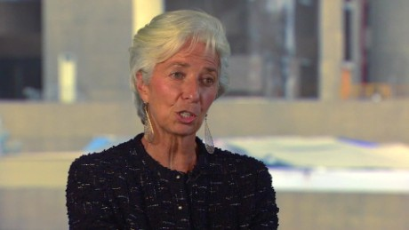 exp Christine Lagarde Interview QMB_00002001