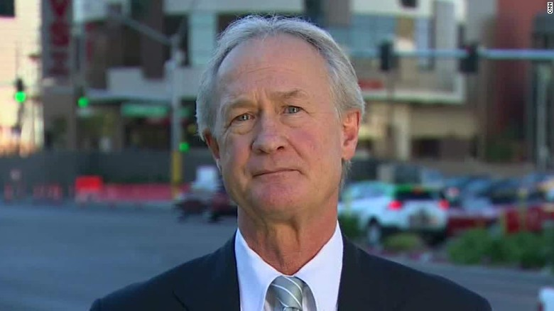 At what point would Lincoln Chafee drop out?