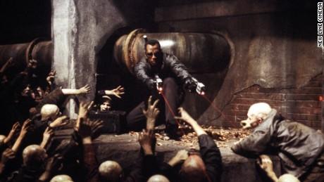 """Wesley Snipes as a vampire hunter in """"Blade II."""""""