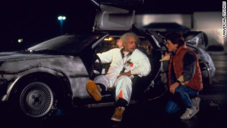 How does 'Back to the Future' match up to the real 2015?