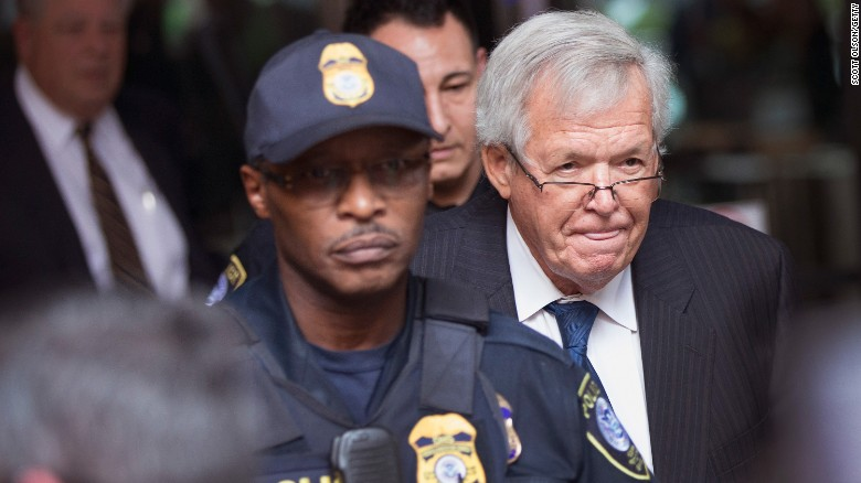 Dennis Hastert pleads guilty, may face prison time