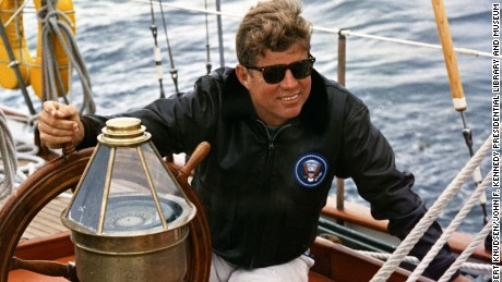 President John F. Kennedy was viewed as healthy and vibrant during his campaign.
