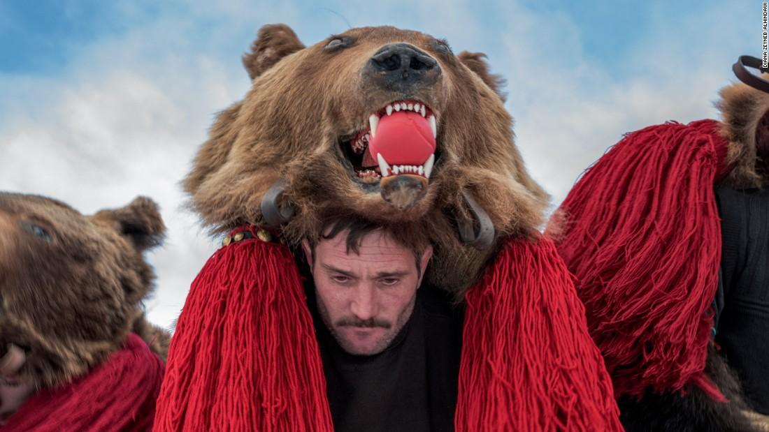 Dancing bear male dancers