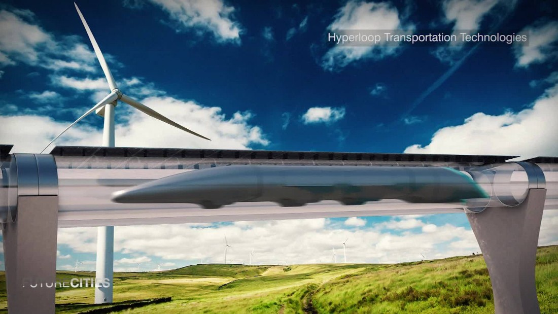 Hyperloop: How to travel at 760 mph in a vacuum