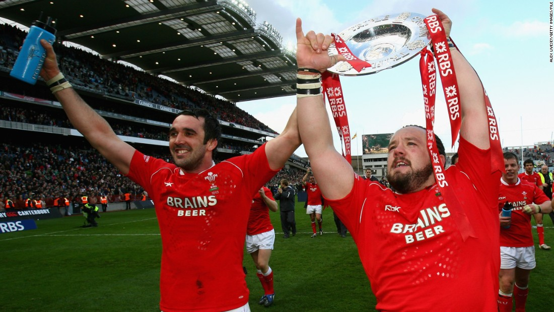 Thomas says he is most proud of his two Six Nations triumphs with Wales. The first, in 2005, ended a 28-year wait for the title. The second arrived in 2008.