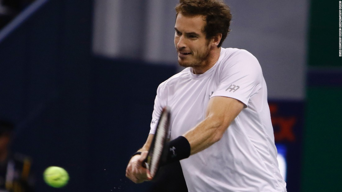Murray won only one game in the first set and was broken early in the second.
