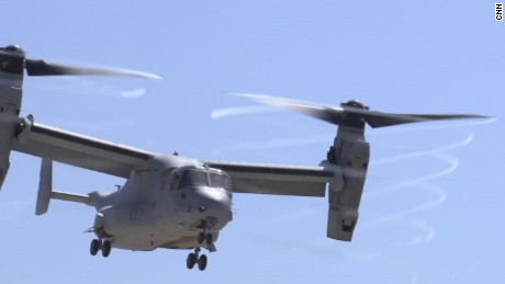Search ends for 3 Marines missing after aircraft 'mishap' off Australia