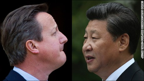 China's Xi Jinping on first state visit to the UK