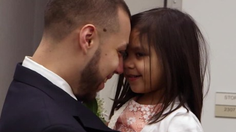 Watch this emotional father-daughter dance