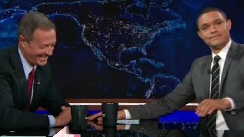 Martin O'Malley visits 'The Daily Show'