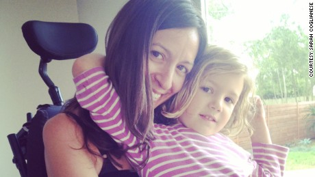 Mom with ALS: My disease will make my daughter stronger