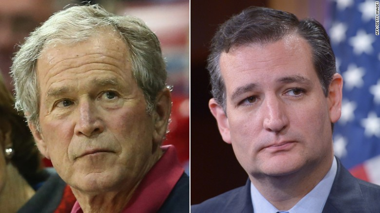 George W. Bush makes shocking statement about Sen. Ted Cruz
