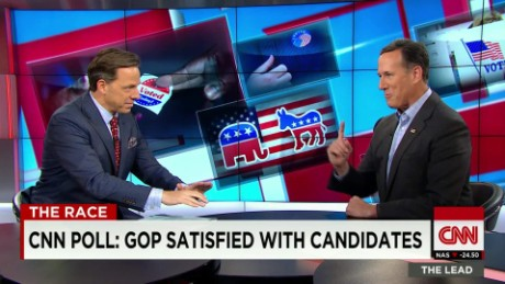 Santorum on GOP 2016 politics The Lead LIVE_00001320
